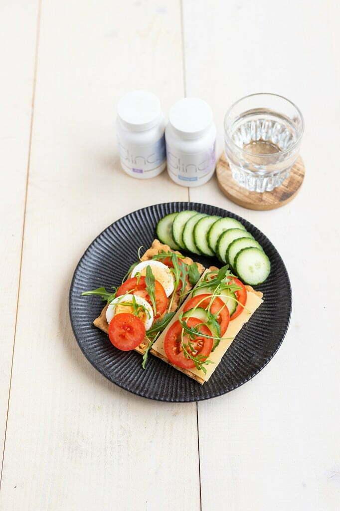 Slinc. lunch met supplementen